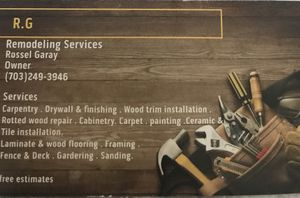Remodeling services for Sale in VA, US