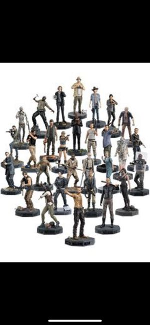 The walking dead 29 statue collection for Sale in Bell Gardens, CA