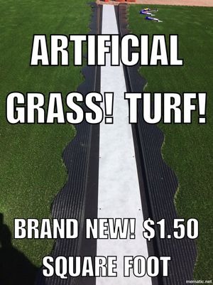 Brand new artificial turf for sale!! for Sale in Poway, CA