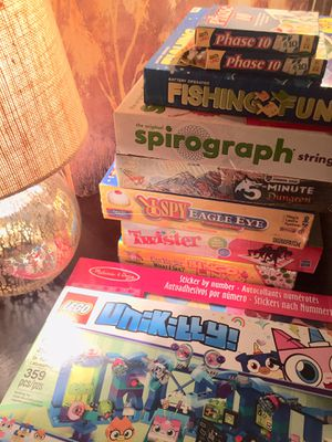 10 Brand New Mixture of board games, card games, other for Sale in Lebanon, TN