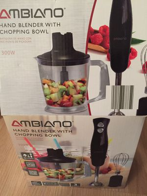 Hand chopper and blender for Sale in Cooper City, FL