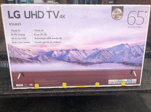 "65"" LG 65UK6500 4K UHD HDR LED SMART TV 2160P (FREE DELIVERY) for Sale in Lakewood, WA"