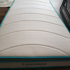 Brand New Twin Mattress & Metal Bed Fram for Sale in Poway, CA