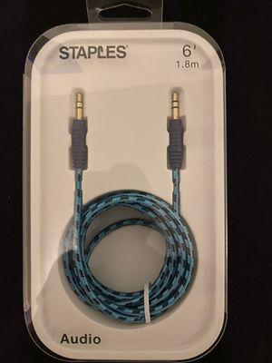 Braided Aux Cable for Sale in Fort Worth, TX