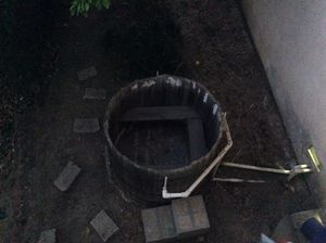 FREE! DIY Cedar Wood Hot Tub . Must take all. for Sale in Whittier, CA
