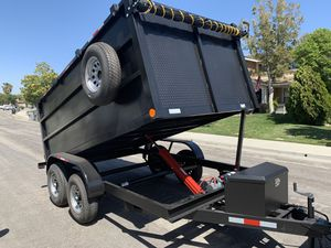 2020 Dump Trailer For Sale ( Cash Only) for Sale in Stockton, CA
