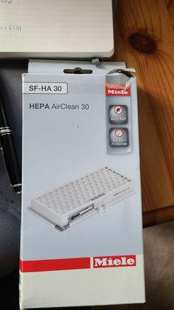 Miele SF-Ha 30 Hepa filter New for Sale in Sammamish,  WA