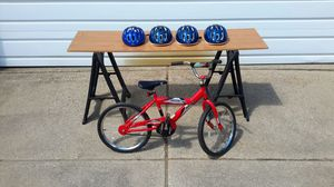 Kids Bike And Helmets for Sale in Madison Heights, MI