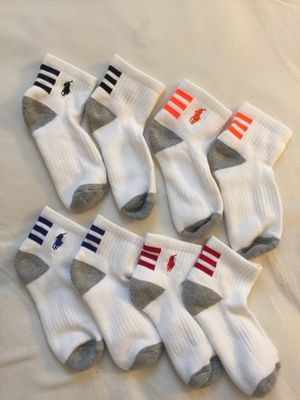 Polo Brand, New Boys Socks size 2 to 7 years old . $12 for Sale in Gaithersburg, MD