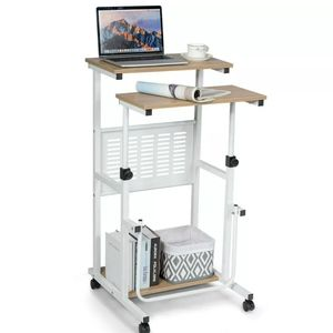 ✨Brand New ‼️ Height Adjustable Mobile Compůter Stand Up Dèsk for Sale in Addison, TX