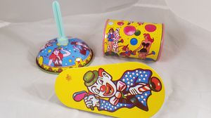 vintage tin toy party noisemakers for Sale in Moreno Valley, CA