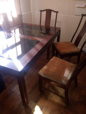 Kitchen table & 5 chairs for Sale in Browns Mills, NJ