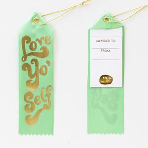 Award ribbon card - love yo self for Sale in Long Beach, CA