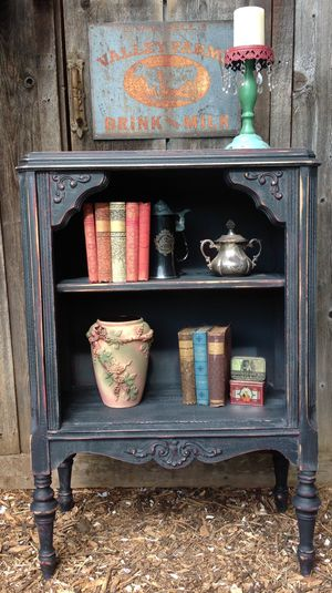 """""""Shabby Chic"""" Antique Open Shelf Cabinet for Sale in Hillsboro, OR"""