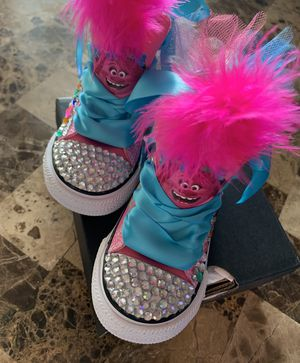 Poppy troll converse for Sale in Corpus Christi, TX