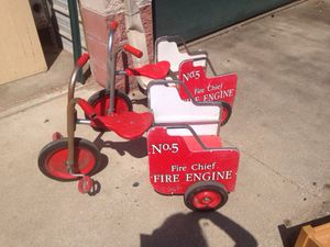 Fire engine tricycle for Sale in Caledonia, MI