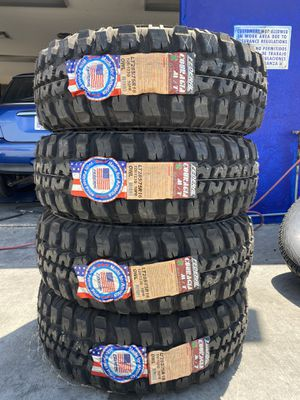 LT285/75R16 FOUR BRAND NEW TIRES , INSTALLATION & BALANCING INCLUDED for Sale in Rialto, CA