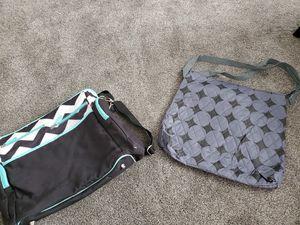 2 diaper bags. 1 new 1 used. for Sale in Salt Lake City, UT