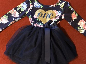 First Birthday Tulle Dress for Baby or Toddler for Sale in Everett,  WA