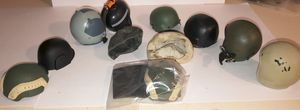 """1/6 scale set of 9 helmets for 12"""" action figures for Sale in Montgomery, AL"""