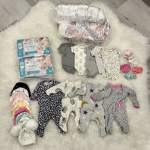 Newborn Diapers & Clothes for Sale in Riverside, CA