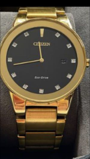 Citizens watch with diamond for Sale in Fontana, CA