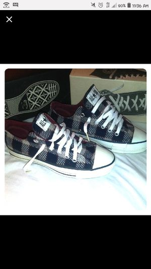 Converse All Star Low - Wool Plaid - 4.5 M/6.5 W for Sale in Bensalem, PA