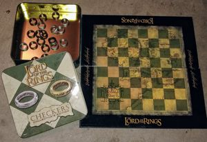Lord of the rings checkers for Sale in Phoenix, AZ