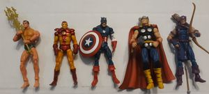 Marvel Universe and superhero Showdown 3.75 action figures for Sale in Durham, NC
