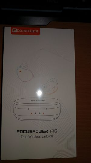 Bluetooth 5.0 True Wireless Earbuds with Charging Case for Sale in Sacramento, CA