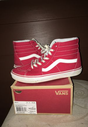 Red High Top Vans for Sale in Arlington, VA