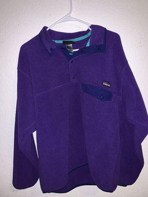 Purple Patagonia fleece for Sale in Stockton, CA
