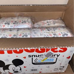 Huggies Size 2 for Sale in Troutdale,  OR
