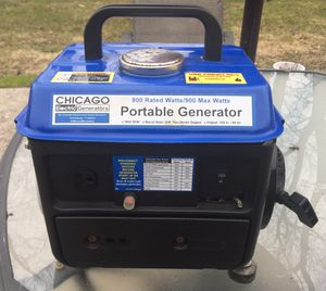 Chicago Electric 800/900 watt Generator for Sale in Evesham Township, NJ