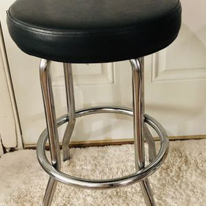 Black And Metal Stool for Sale in Wake Forest, NC