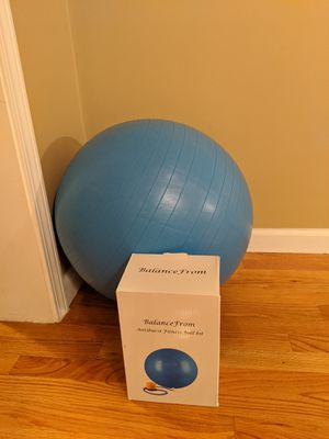 Exercise ball for Sale in Greensboro, NC