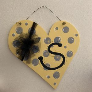 Wooden Decorated Heart for Sale in Derby, KS
