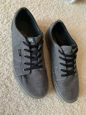 VANS Size Men's 10 Grey Shoes authentic Grey rubber sole ❗️IF POSTED THEN AVAILABLE❗️ for Sale in Bolingbrook, IL