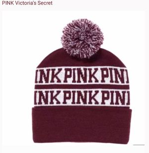 VS PINK beanie / Pom hat for Sale in Las Vegas, NV