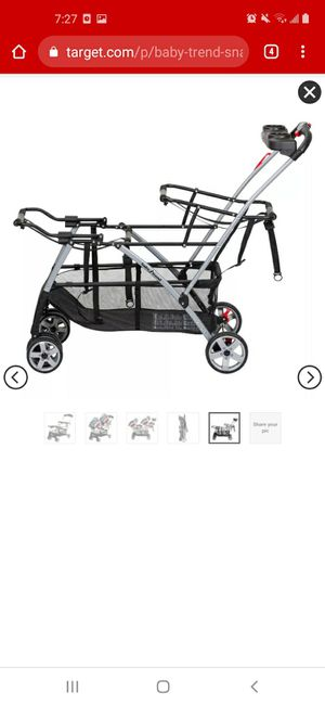 Baby trend snap n go double stroller for Sale in Mesa, AZ