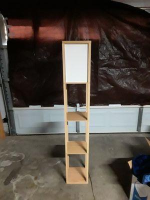 Adesso Barbery Shelf Floor Lamp, Oak for Sale in Arlington, TX