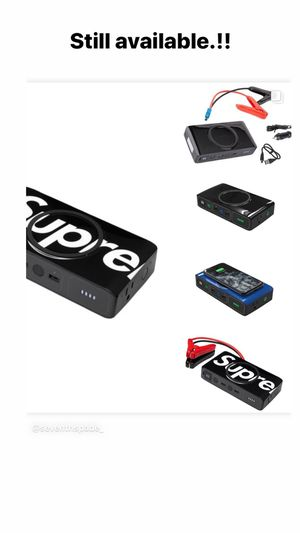 Supreme mophie powerstation go for Sale in Santa Maria, CA