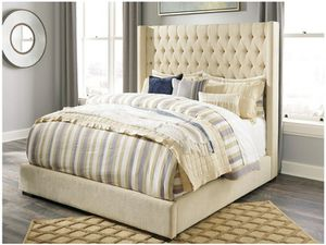 Fantastic Deal! Brand new king size bedframe includes mattress set for Sale in Virginia Beach, VA