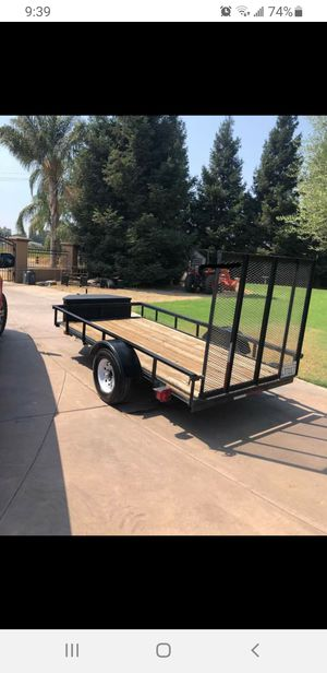 2011 cargo trailer with new tires, led lights and CA permanent plates for Sale in Fresno, CA