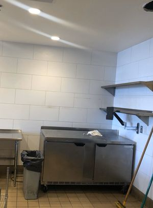 "Beverage Air 60"" inch work top undercounter refrigerator cooler for Sale in SeaTac, WA"