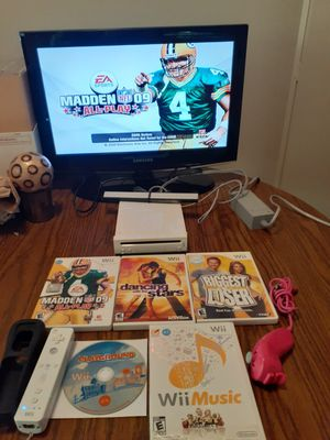 Wii full system with games for Sale in Indianapolis, IN