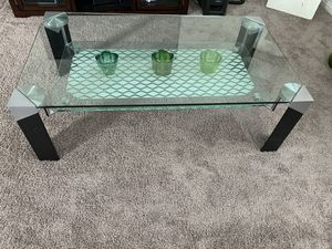 Modern Glass Coffee table for Sale in Brentwood, CA