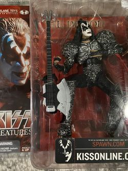 KISS Creatures Action Figure The Demon McFarlane Toys 2002 New Unopened for Sale in Keizer,  OR