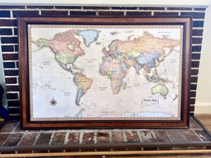 World map for Sale in Hagerstown, MD
