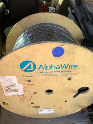 1000 ft spoil of 8pair 20ga. Double insulated, foil wound low interference audio/video wire for Sale in Sacramento, CA